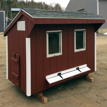 Backyard chicken coops and dog kennels