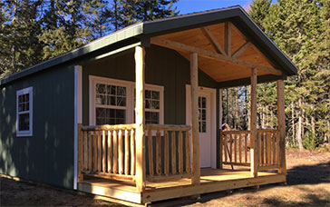 Camp with web porch option- #11668