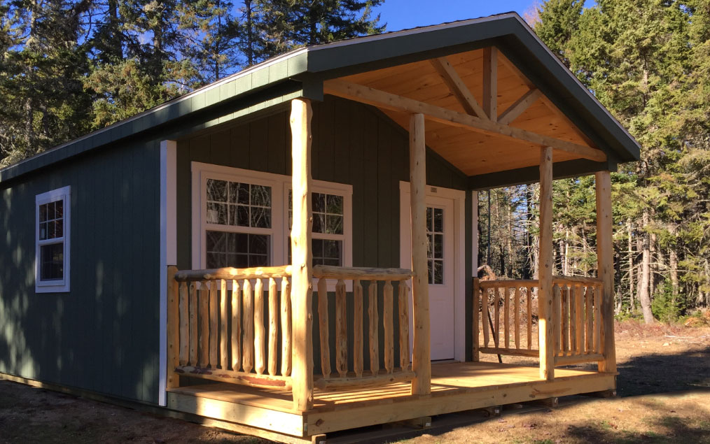 Storage Sheds, Garages, Camps, Horse Barns- Hill View Mini Barns