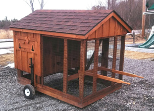 Maje Chicken Coop On Wheels Video