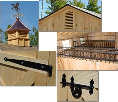 Click here for more details on the monitor style horse barns.