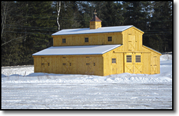 Modular Horse Barns Maine And New Hampshire And The Rest Of New England