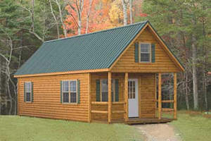 Adirondack Log Sided Home