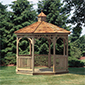 Pressure treated gazebos