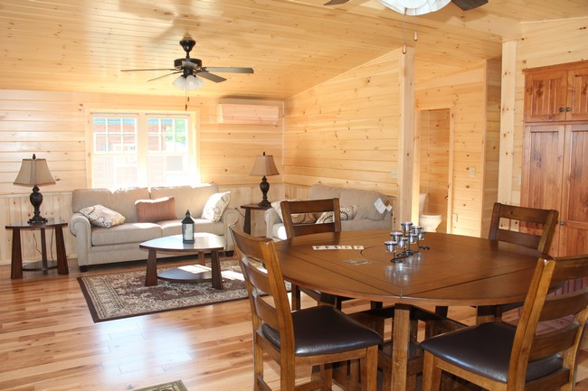 Holden, Maine Display Home. Living Room   #16907