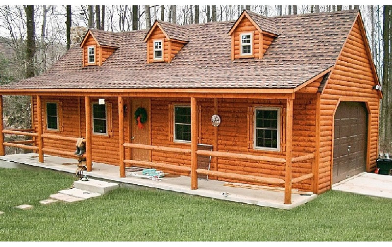 Modular Homes on Frontier Log Cabin Floor Plans