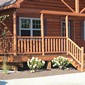 Holden, Maine display home porch - #16907