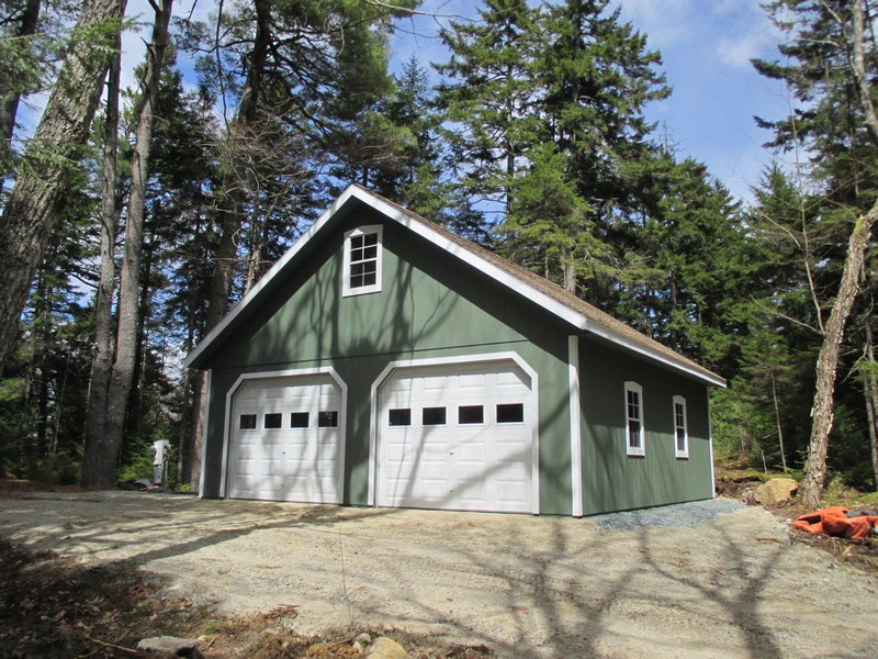 Stick Built Sheds : Pre built sheds in maine shed plans hip roof