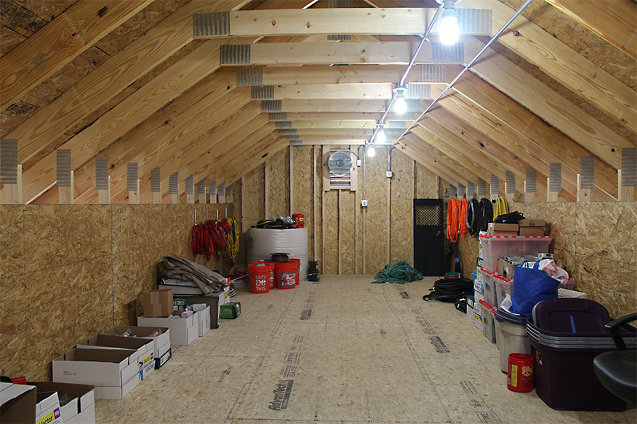 Stick Built Residential Garages In Maine