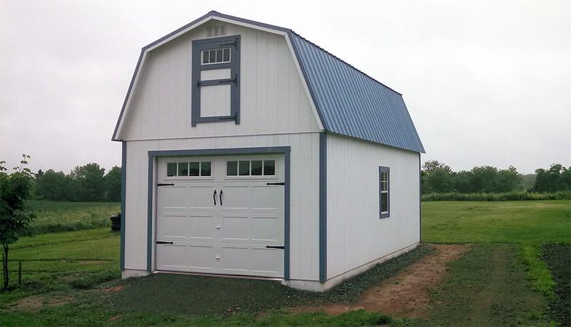Stick Built Carports : Stick built residential garages in maine