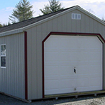 stick built and single wide garages