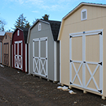 storage buildings and barns