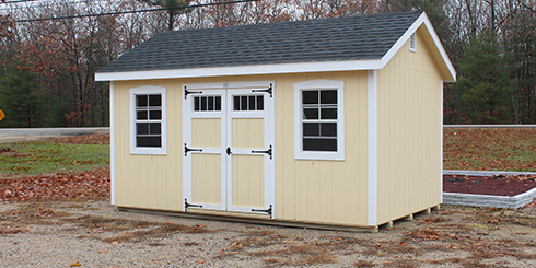 Garden Sheds New Hampshire sheds, storage barns, homes, garages, camps, horse barns in maine