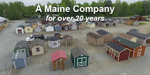Sheds storage barns homes garages camps horse barns in maine most solutioingenieria Images