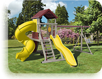 Mountain Climber Vinyl Swing