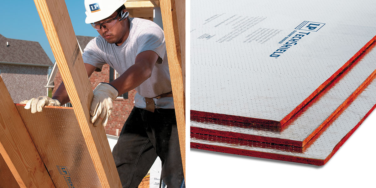 TechShield® Radiant Barrier Sheathing