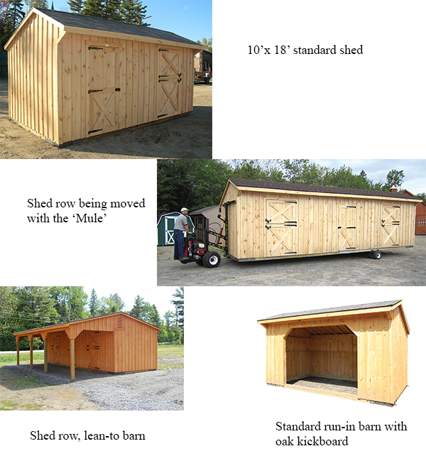 Buildings That Are In Stock At Hill View Mini Barns